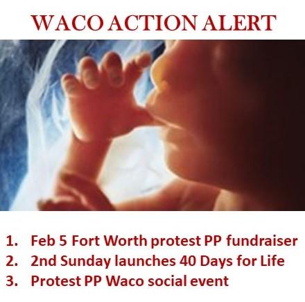Waco Action Alert