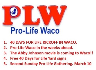 Pro-Life Waco – Voices for Life