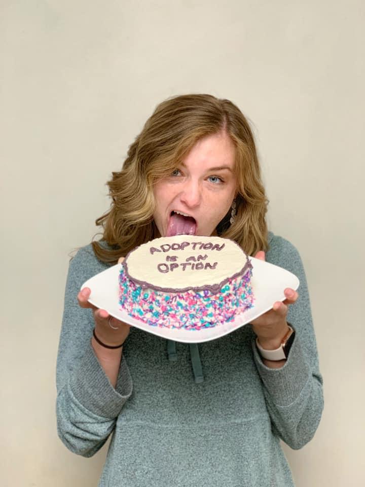 Adoption Cake