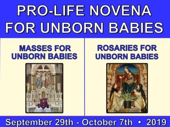 Pro-Life Novena