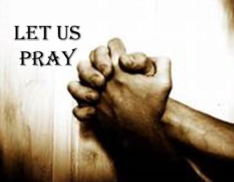 Let us pray