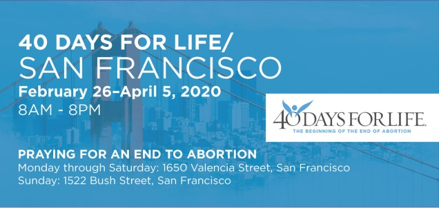 40 Days for Life SF