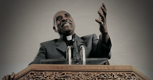 Black Pastor Preaching